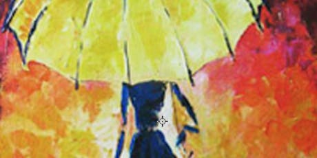 Painting - Romantic Yellow Umbrella tickets