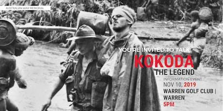 Kokoda Information Night tickets