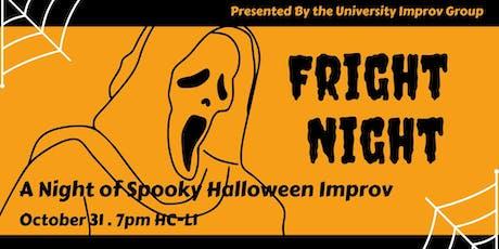 Fright Night Halloween Improv Show tickets