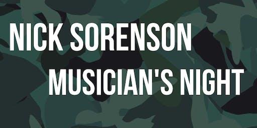 Nick Sorenson Musician's Night