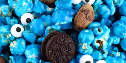 $5 Craft Workshop - Cookie Monster Popcorn