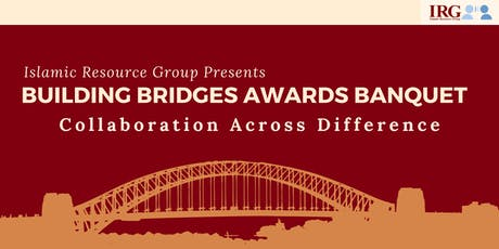 IRG Building Bridges Awards Banquet - 2019 tickets