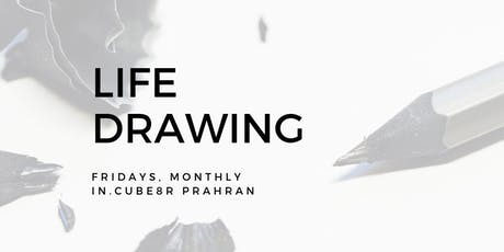 Life Drawing at in.cube8r Prahran (October) tickets