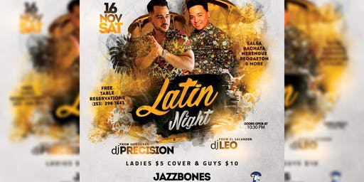 Latin Night at Jazzbones (Tacoma)