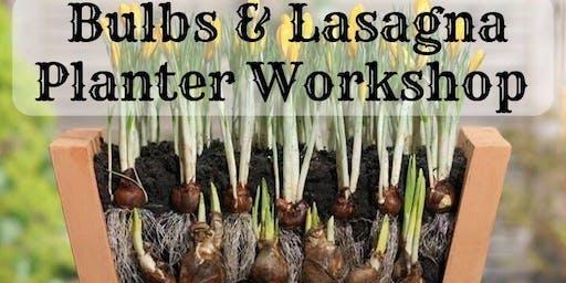 Fall Bulb Class & Lasagna Planter