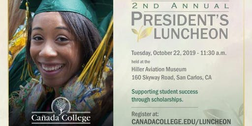 Cañada College 2nd Annual President's Luncheon