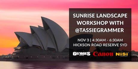 Sunrise Landscape Workshop with @Tassiegrammer tickets