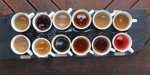Detroit Writing Room Coffee Tasting