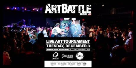 Art Battle Champions with Q-Mixers at the Sagamore! tickets
