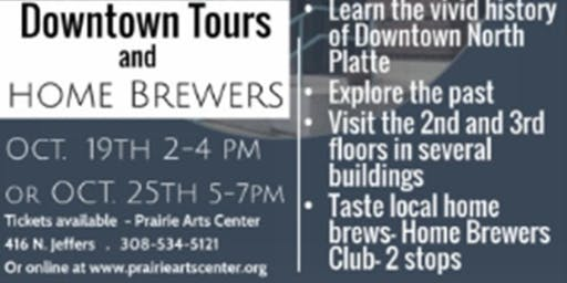 Downtown Tours and Home Brewers