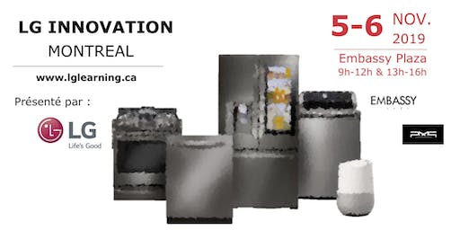 LG Electroménagers/LG Home Appliance Roadshow Montreal