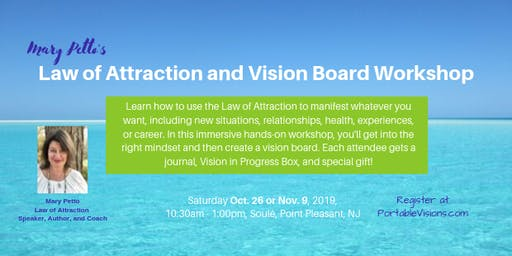 Law of Attraction and Vision Board Workshop