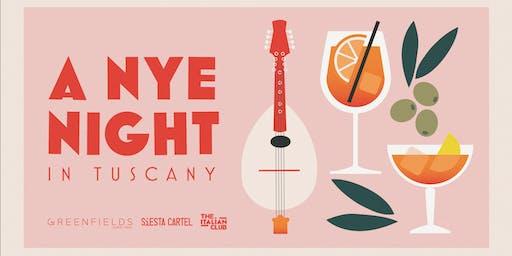 The Italian Club presents 'A NYE Night in Tuscany'