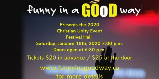 Christian Unity / Comedy Event