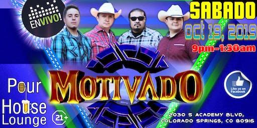 Grupo Motivado Live @ Pour House 10.19.19