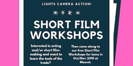 Short Film Workshop Series tickets