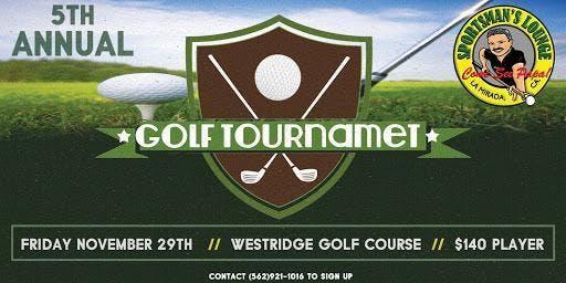 Papa's 5th Annual Golf Tournament