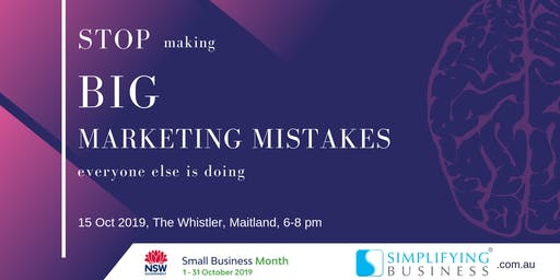 Stop making BIG marketing mistakes everyone else is doing