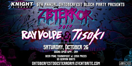 Knight Library Oktoberfest Block Party Presents: ZBTerror 2019 tickets