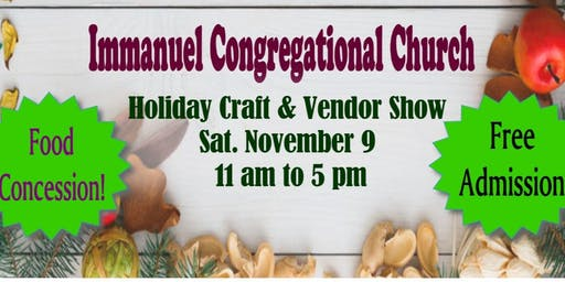 Immanuel Holiday Craft & Vendor Show