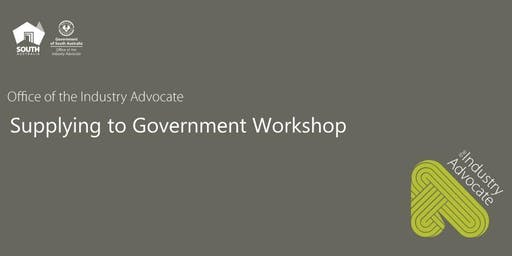 Tailored Supplying to Government Workshop - SA Health
