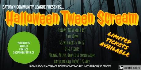 Halloween Tween Scream! tickets