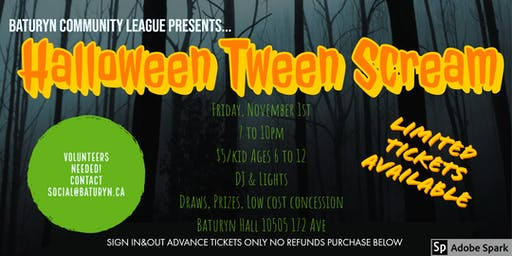 Halloween Tween Scream!