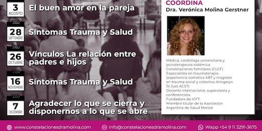 Taller Constelaciones Familiares: Síntomas, Trauma y Salud