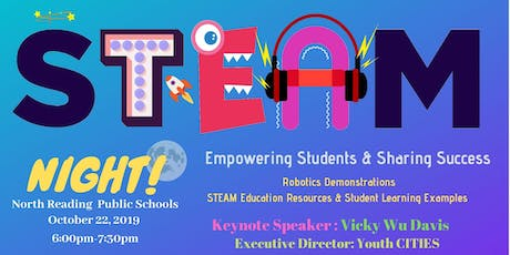 STEAM Night North Reading: Empowering Students and Sharing Success tickets