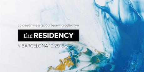 Co-designing The Residency – Barcelona entradas