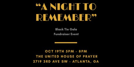 SOL - A NIGHT TO REMEMBER BLACK TIE GALA tickets