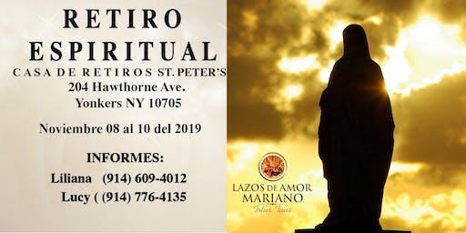 Retiro Espiritual Lazos de Amor Mariano White Plains, NY. En Nov/2019