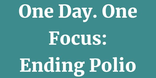 World Polio Day - End Polio Now