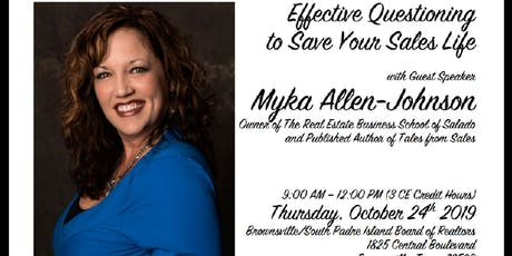 Effective Questioning To Save Your Sales Life tickets