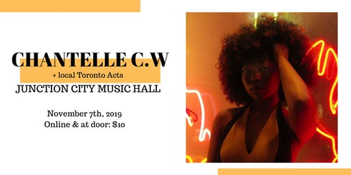 Chantelle C.W at Junction City Music Hall