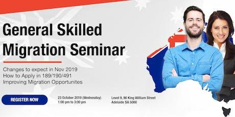 General Skilled Migration Seminar tickets