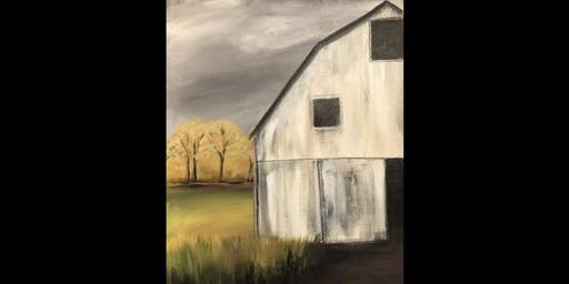 The Old White Barn