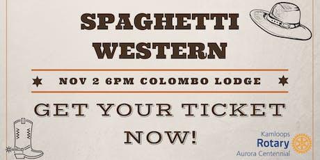 Spaghetti Western 2019 tickets