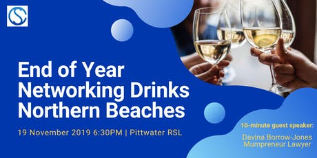 Connect for Success End of Year Networking Drinks - Northern Beaches tickets