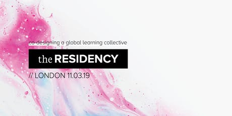 Co-designing The Residency - London tickets