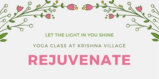 Rejuvenate - Let the light in you Shine!