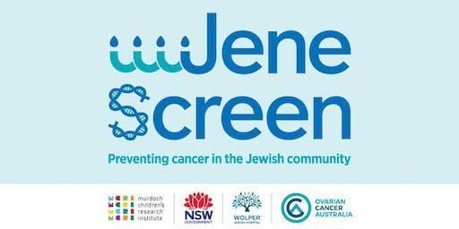 JeneScreen - Jewish Community BRCA Screening Event- 12/11/19
