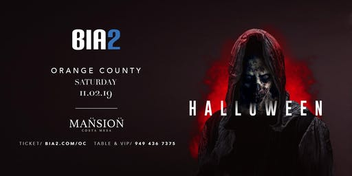 Bia2 Annual Halloween Event In Orange County
