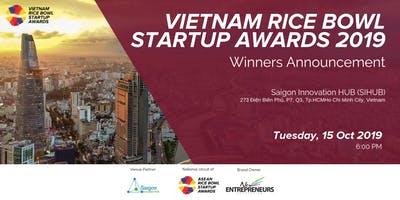 Vietnam Rice Bowl Startup Awards -  Winners Announcement