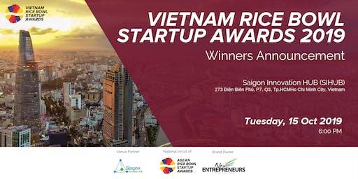 Vietnam Rice Bowl Startup Awards -  Winners Announcement