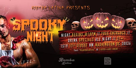 Rumba Latina Gay Spooky Night! tickets