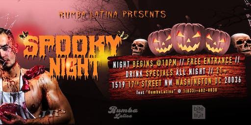 Rumba Latina Gay Spooky Night!