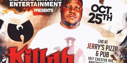 KILLAH PRIEST live in Bakersfield ca (wu tang/ sunz of man)