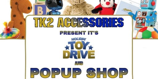 Vendors Wanted!!! Holiday Toy Drive Pop-Up Shop Experience