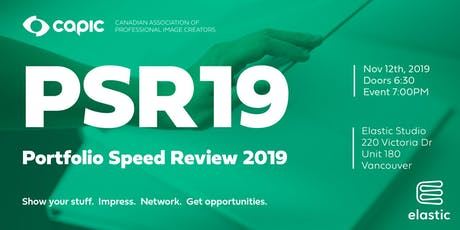 Portfolio Speed Review 2019 tickets